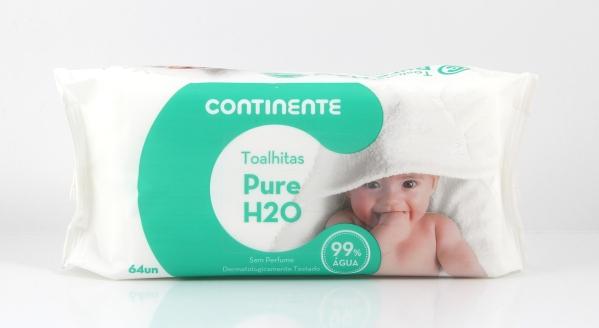 Toalhitas Pure H2O 64un